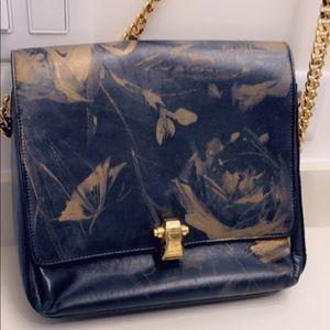 Roberto Cavalli rare real leather bag